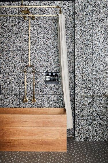 gray shower tile ideas nicole franzen