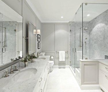 gray shower tile ideas chango & co.