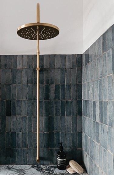 gray shower tile ideas decus