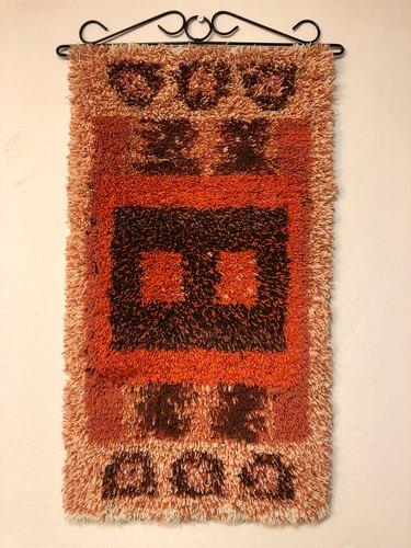 Scandinavian Midcentury Modern Rug, $200