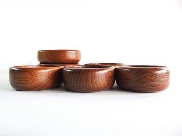 Sowe Konst Teak Salad Bowls (set of six), $59