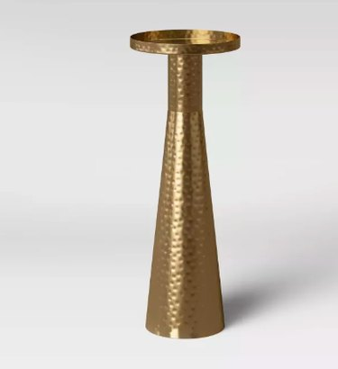 brass drink table