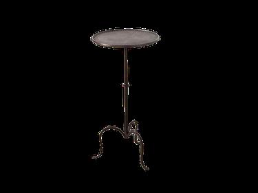 Black Iron Martini Table