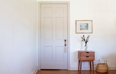 Painted interior door
