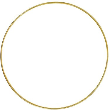 Craft County Gold Hoops, $8.49
