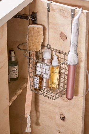 UO Over-the-Cabinet Hair Tool Organizer Basket