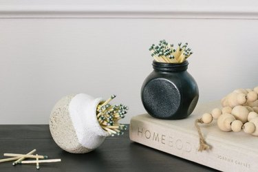 Turn an IKEA Rajtan spice jar into a trendy match striker.