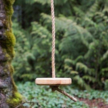 Schoolhouse Tree Swing