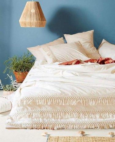 tassel boho bedding
