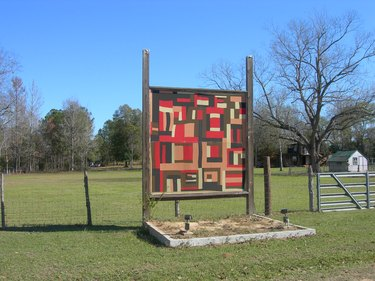 a quilt in Gee's Bend
