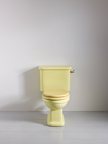 yellow lavatory Rockwell Line from The Water Monopoly