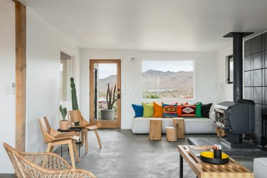 Desert Modern Living Room by Brandon Stanley