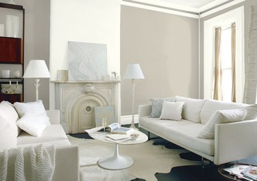 Revere Pewter Paint Color by Benjamin Moore
