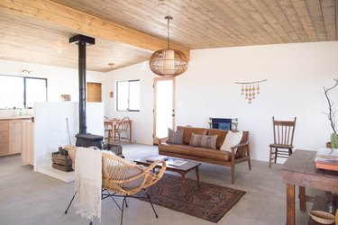 Desert Modern Living Room by Little Jo Cabin