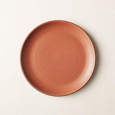 CB2 terracotta salad plate