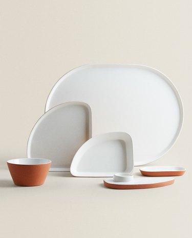 Zara Home terracotta tableware collection