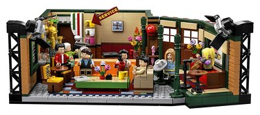 "lego set showing Central Perk from the show ""Friends"""