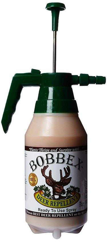 Deer repellent spray.
