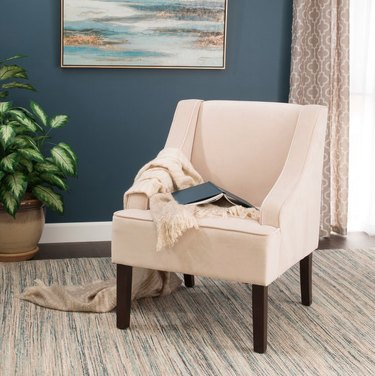 hayneedle white accent chair