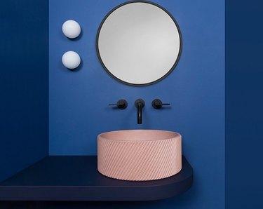 kast pink sink basin