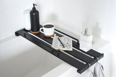 Turn IKEA decor into a bathtub tray