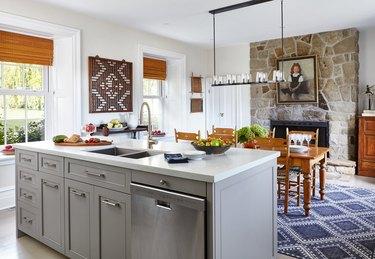 Vintage and modern transitional kitchen ideas
