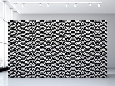 black and white art deco wallpaper