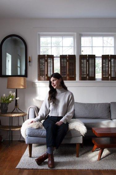 Emma Tuccillo at home