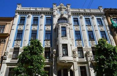 art nouveau style building
