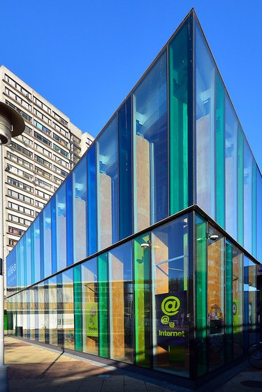 The Idea Store in London designed by Ghanaian-British architect