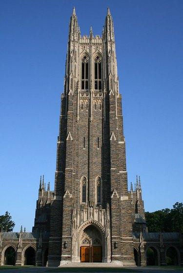 Duke University Campus designed by Black architect Julian Abele
