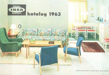 vintage ikea catalog