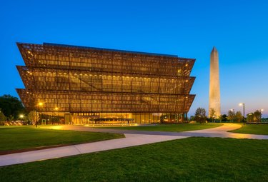 National Museum of African American History seen from the outside