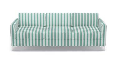The Inside Jade Stripe Modern Sofa, $1,599