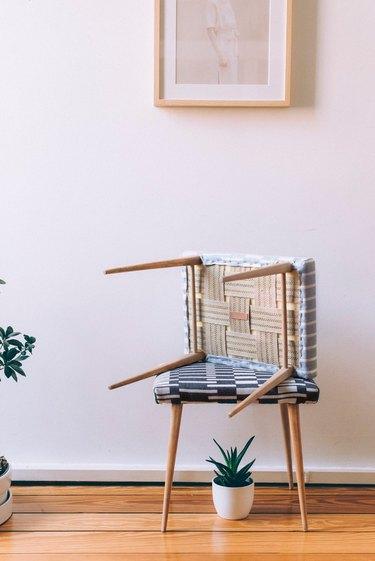 Restored midcentury stool