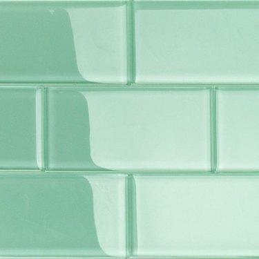 Glass wall tile.