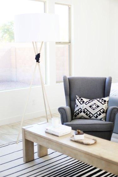 DIY IKEA Tripod lamp Hack