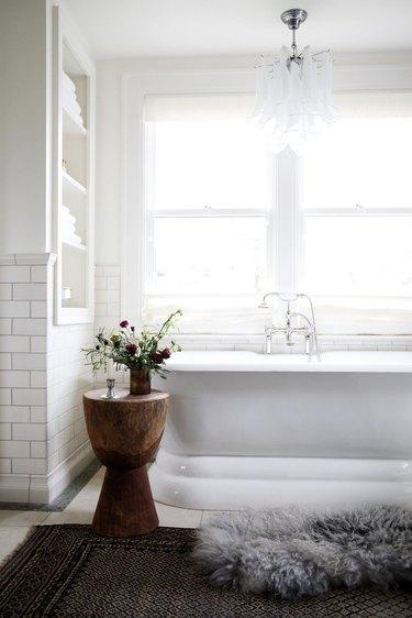 Bathroom Ceiling Light Idea by Katie Hackworth