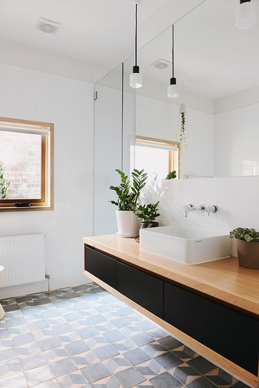 Bathroom Ceiling Lighting Idea by Nest Architects
