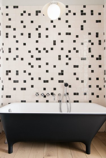 Bathroom Ceiling Light Idea by Elizabeth Roberts Architecture