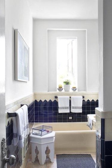 Bathroom with IKEA decor