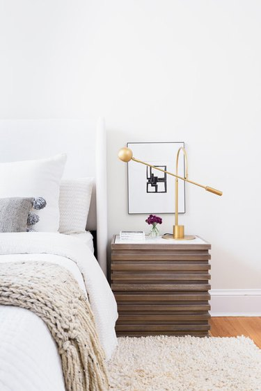 Modern bedroom with IKEA decor