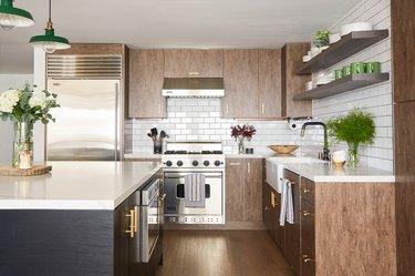 Kitchen with IKEA decor