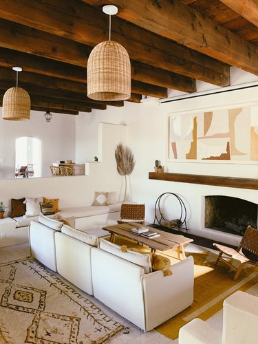 Posada by Joshua Tree House living room