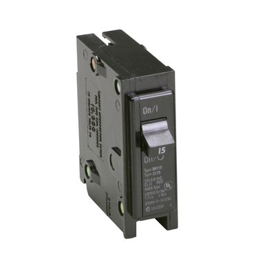 Single-pole circuit breaker.