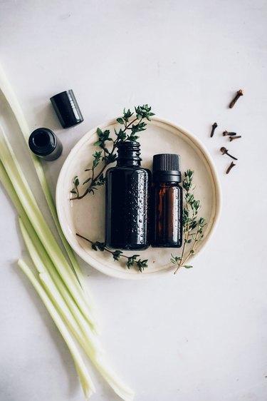 Immune support essential oil diffuser blend