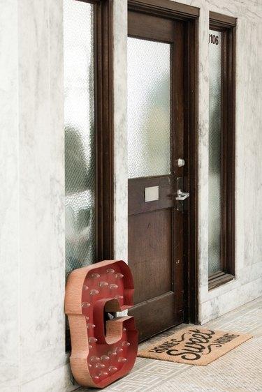 CC Boom's Front Door