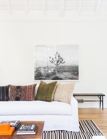earth tone bohemian color palette by Amber Interiors Design Studio