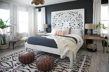 Audrina Patridge master bedroom by Carla Choy