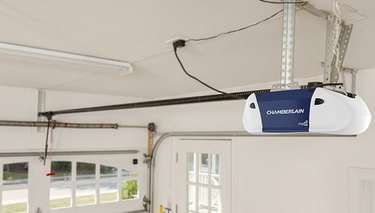 chain drive garage door opener.